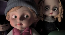 adimated creepy doll