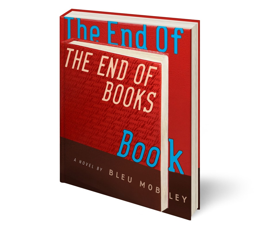 The End of the End of Books Book. Cover.