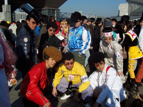 Source: http://en.wikipedia.org/wiki/File:JapaneseBosozoku.jpg