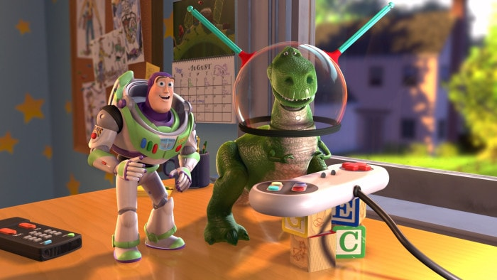 """Still from Pixar's """"Toy Story,"""" the first fully animated CG feature film"""