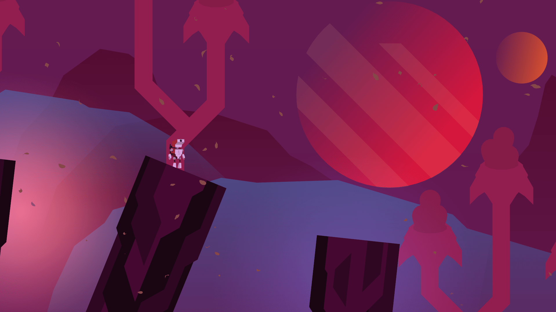 """Screengrab from the forthcoming game, """"Planet of the Eyes"""""""