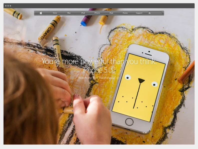DRAWNIMAL was featured in an iPhone TV commercial and on the Apple.com homepage