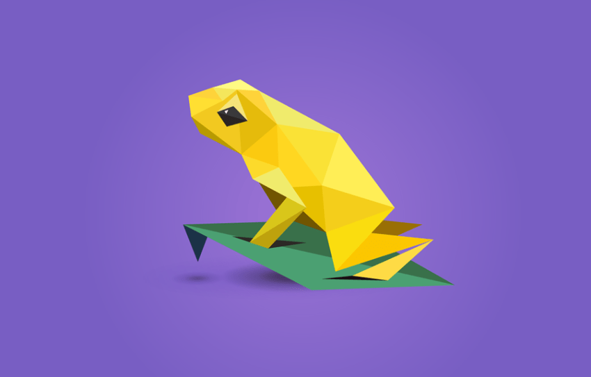 The shards that constitute each animal needed to be flat shaded