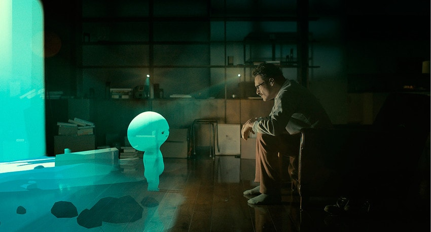"""David OReilly directed the """"Alien Child"""" video game sequences in Spike Jonze's """"Her."""""""
