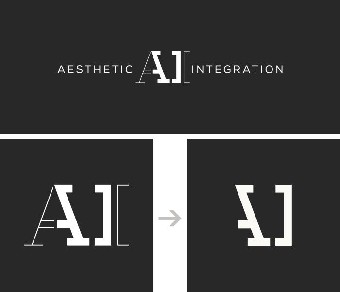 Development of the Aesthetic Integration logo