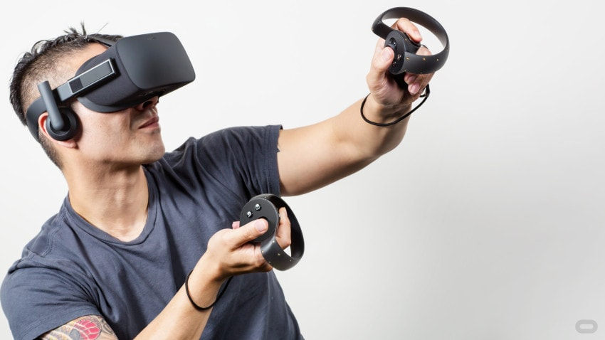 The Oculus Rift announced Oculus Touch controllers at E3 2015