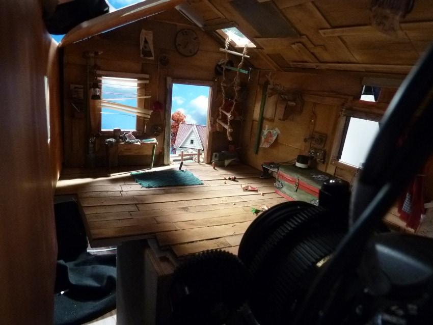 Inside Ryan's treehouse