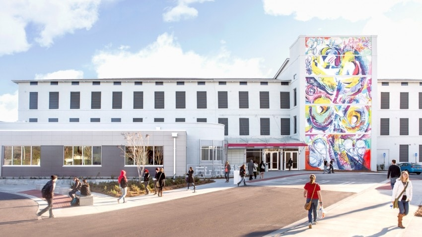 SCAD's Montgomery Hall houses Motion Media Design, Animation, Visual Effects and Interactive Design & Game Development classes.