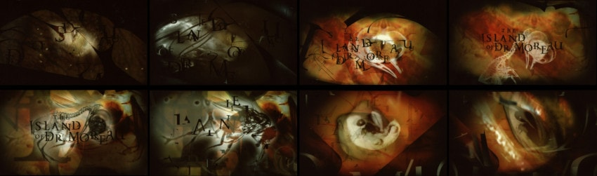 """Boards for """"The Island of Dr. Moreau"""" (1996)"""