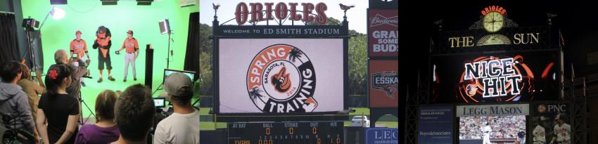 Baltimore Orioles jumbotron client project