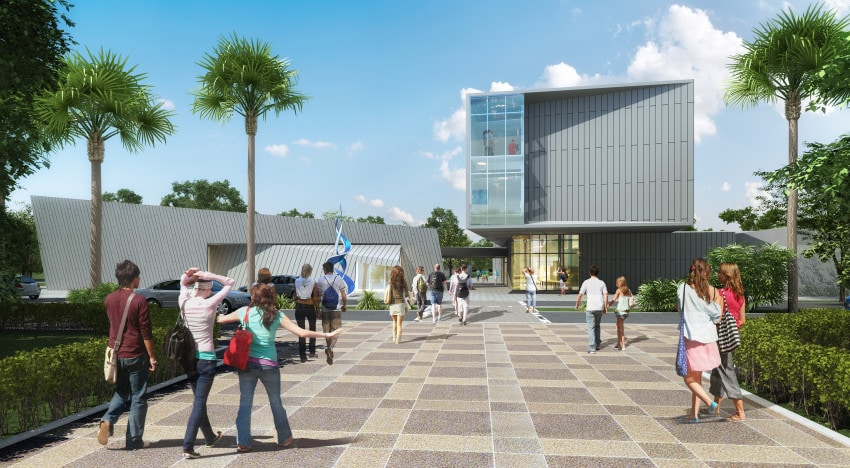 The forthcoming Basch Visual Arts Center