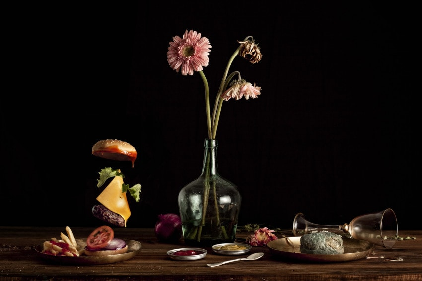 """""""Burger Time,"""" designed with Alfonso Herranz y Alicia"""