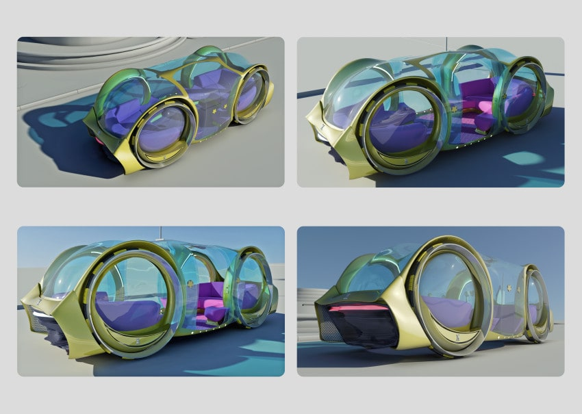 Design the driverless party car