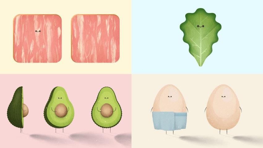 Character design for The Feel Good Bakery