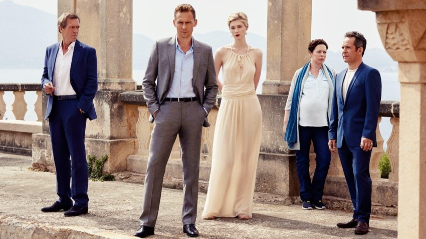 Tom Hiddleston and the cast of The Night Manager