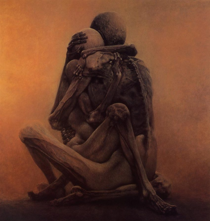 Untitled by Zdzislaw Beksinski (1984)