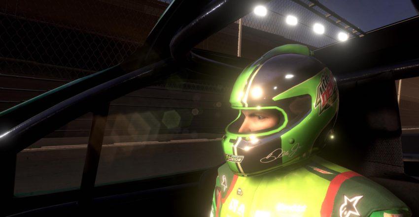 Your co-pilot, Dale Earnhardt Jr